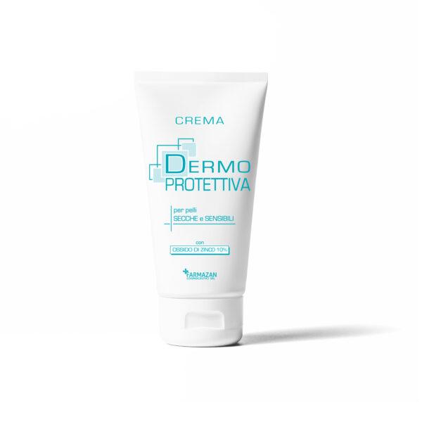 Crema Dermoprotettiva Farmazan. Tubetto da 50 ml. Crema per pelle problematica e irritabile